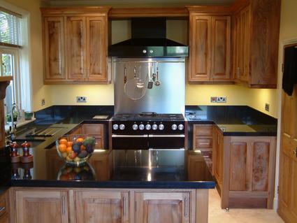 Oak And Granite Kitchen